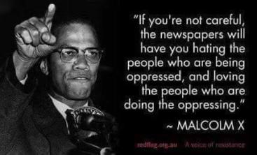 MALCOLM X BIG NEWSPAPERS