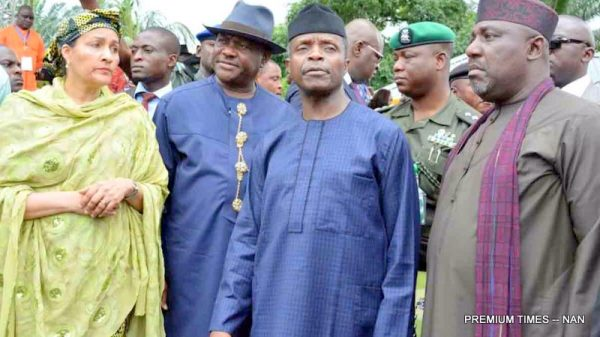 osinbajo in ogoni