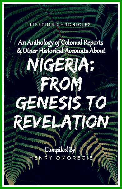 NIGERIA FROM GENESIS TO REV COVER USE