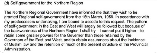 NORTHERN SELF GOVT PLANS